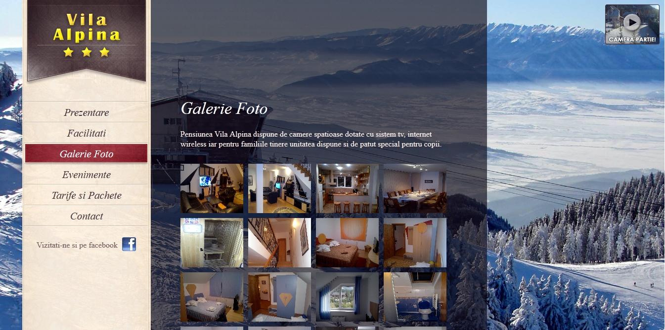 Vila Alpina - grafica web Unigraphics