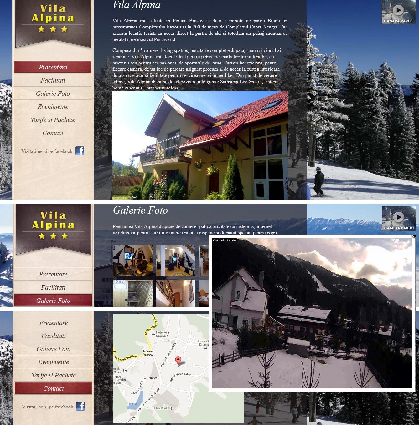 Realizare grafica promovare site - Unigraphics Publicitate si Servicii