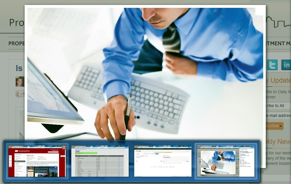 Administrare siteuri si pagini web - Unigraphics Publicitate si Servicii