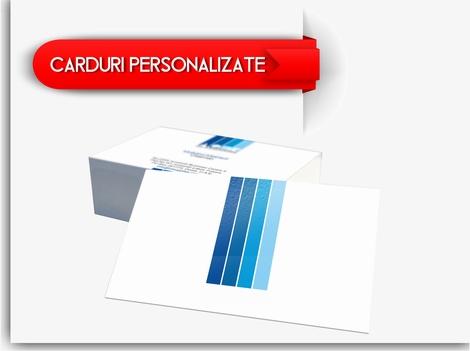 Realizam la comanda carduri promotionale si legitimatii tip card