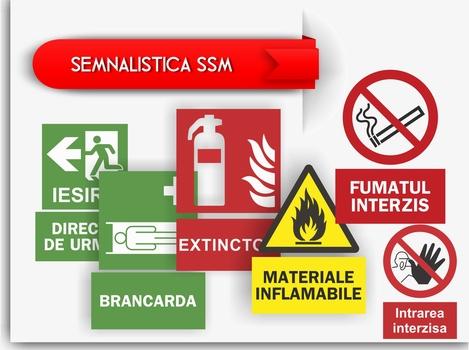 Semnalistica pentru Securitatea si Siguranta Muncii