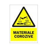 Materiale Corozive (Autoadeziv)