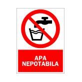 Apa Nepotabila (Autoadeziv)