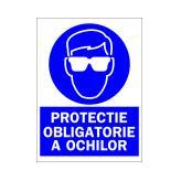 Protectie Obligatorie A Ochilor (Autoadeziv)