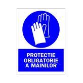 Protectie Obligatorie A Mainilor (Autoadeziv)