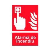 Alarma de Incendiu (Autoadeziv)