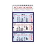 Calendar personalizat de perete triptic pliabil mare