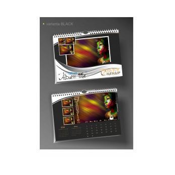 Calendar de perete cu design integral PHOTO BOOK A3 landscape