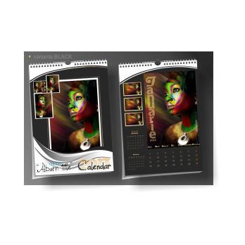 Calendar de perete cu design integral PHOTO BOOK A4