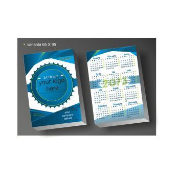 Calendar de buzunar full personalizat BUSINESS