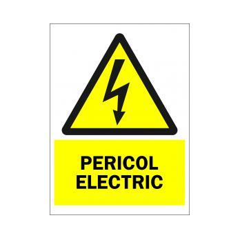 Pericol Electric (Autoadeziv)