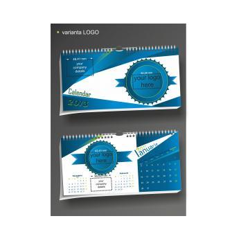 Calendar de birou full personalizat BUSINESS DL